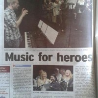 VOTT sing for Help the Heroes