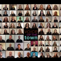 Voice of the Town Choir - O Holy Night Virtual Video